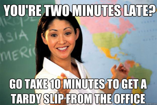 thedailymeme:  Unhelpful High School Teacher