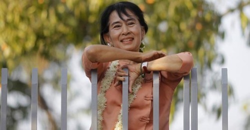 Nobel Peace Prize laureate and newly elected lawmaker Aung San Suu Kyi will travel outside Myanmar for the first time in 24 years after accepting invitations to visit Norway and Britain in June, her party said on Wednesday. (click-through for full story)