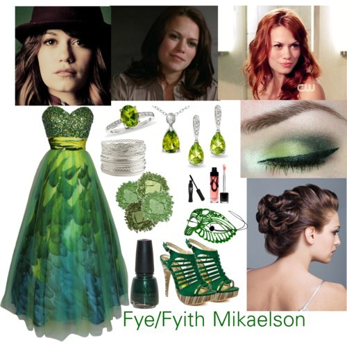 Fye/Fyith Mikaelson by damonlover featuring an Urban Decay eyeshadowGown2 Lips Too sandals, $55Earrings, $329Ring, $199Pendant, $49Wet Seal bracelet, $8Anna Sui mascara, $40Lip gloss, $18Urban Decay makeup, £13Urban Decay eyeshadowStardust Eyeshadow, $20