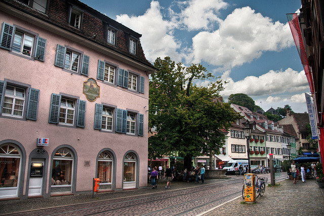 | ♕ |  Old Town streets - Freiburg, Germany  | by © Werner Kunz