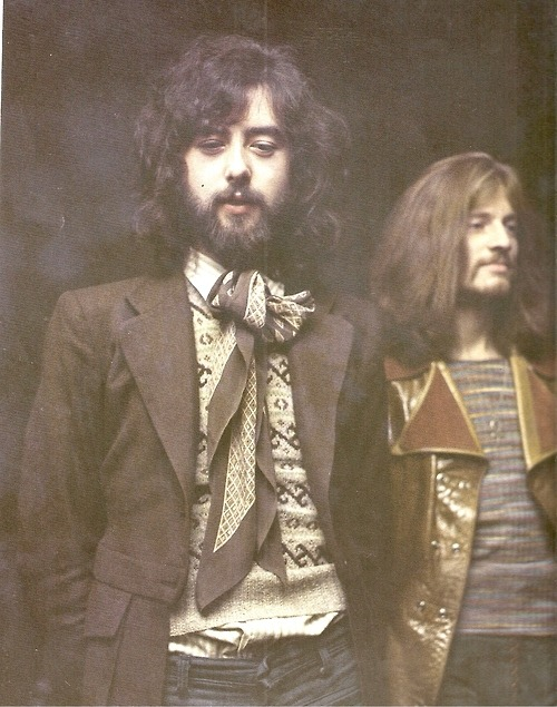Jimmy Page , John Paul Jones