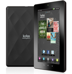 Read in full, vibrant colour with the new Kobo Vox eReader. Plus, Kobo Vox connects you to the internet via Wi-Fi, so browse the web, check email, update Facebook, and access music, video and over 15,000 Apps for Android. Who needs ipads when you have a Kobo Vox?