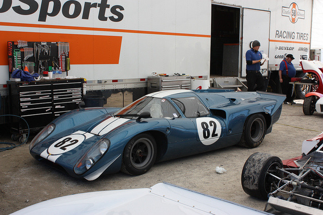 BOX Lola T70 MKIIIB  969/07 Lola T70 Mk IIIb Coupe #82 by hippstah on Flickr.