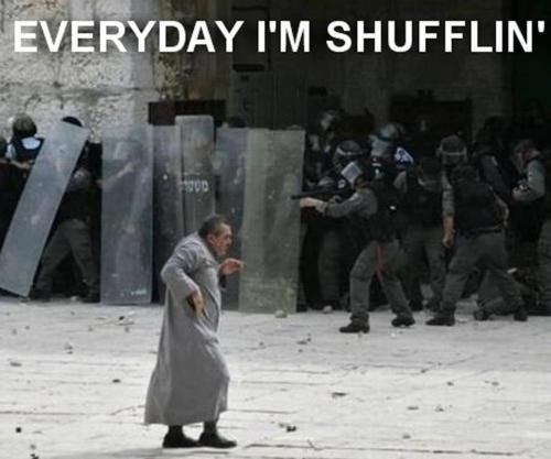 Everyday I'm shufflin…