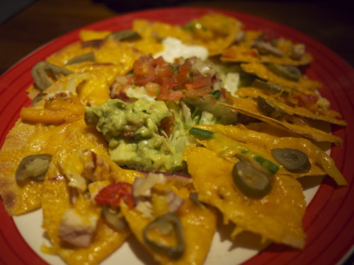 TGI Friday's nachos