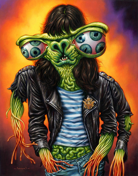"Monsters Of Rock  ""Joey"" by Jason Edmiston"
