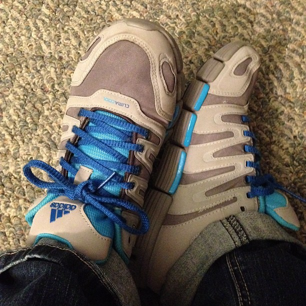 "Wearing my ""Space Mountain"" shoes today (Taken with instagram)"