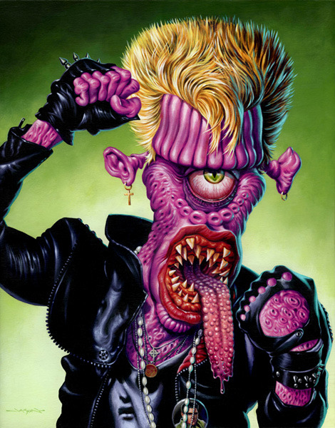 "Monsters Of Rock ""Billy"" by Jason Edmiston"