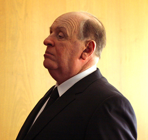 First look at Anthony Hopkins as Alfred Hitchcock Hitchcock, Sacha Gervasi's forthcoming biopic of the legendary filmmaker, has released a first official image giving us a first look at Anthony Hopkins as the Master of Suspense…