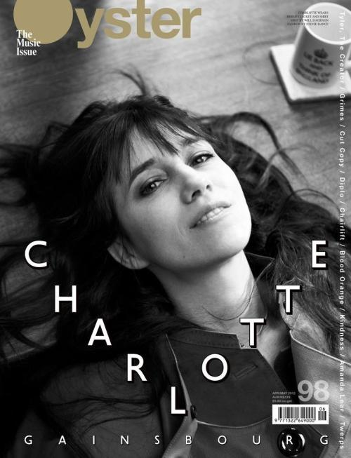 Charlotte Gainsbourg (Oyster magazine, April-May 2012)