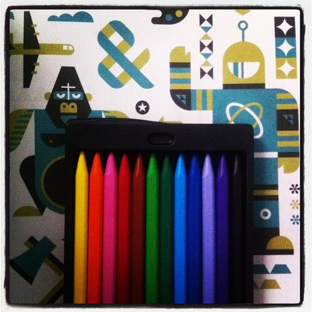 #colour #pens #stationery #myroom #fabercastell (Taken with instagram)
