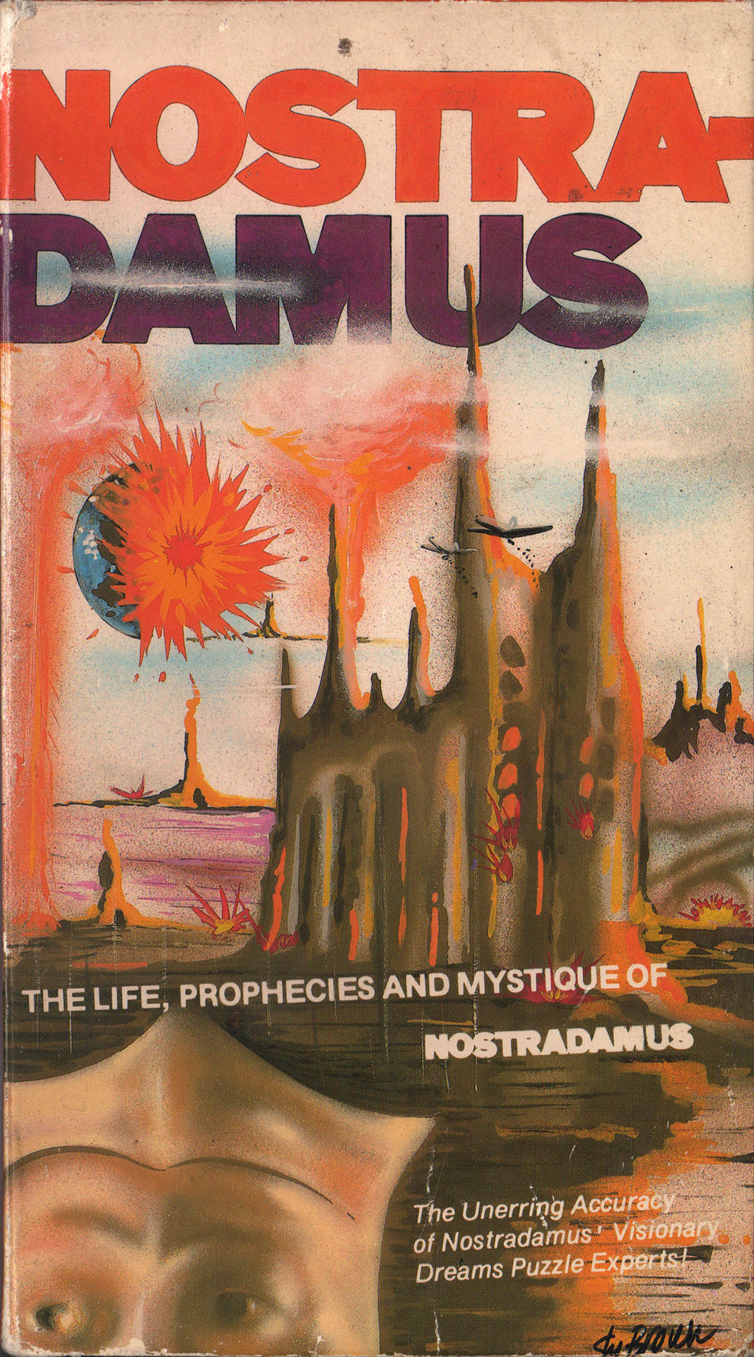 vhscoverjunkie:  Nostradamus: The life, prophecies and mystique of (1988)