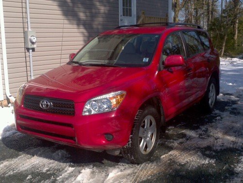 2007 Toyota RAV4 AWD, 4 cyl., Auto, AC, Cruise, CD/MP3 payer 13700km, new winter and chalk season tires, Auxiliary input, heated windshield, pwr options, etc. $16,900.00 #halifax #suv