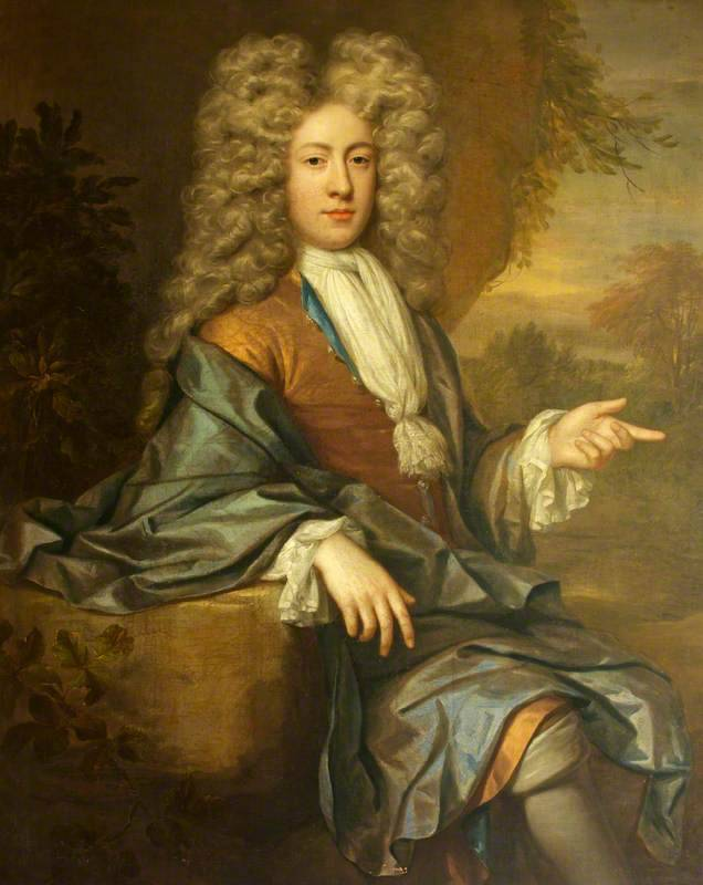 Henry Davenport III (1677–1731), as a Young Man by Jan van der Vaart (attributed to) Date painted: c.1699