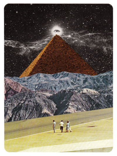 gluepaperscissors:  handmade collage, 12,5x17 cm. ORIGINAL FOR SALE.