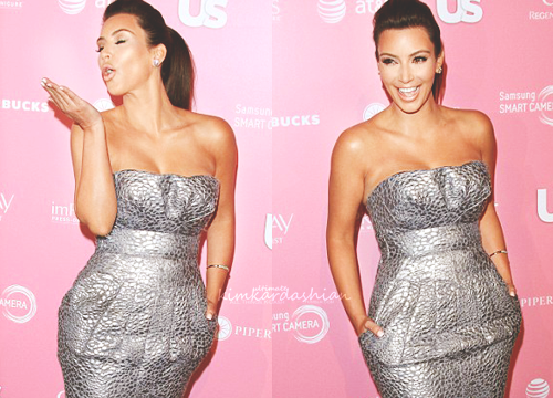 Kim Kardashian at UsWeekly Hot Hollywood Style Issue Event [Apr18]