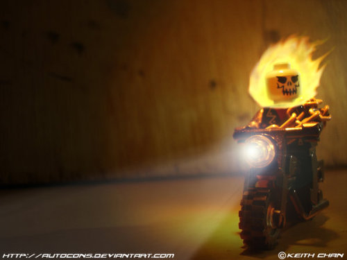 LEGO Ghost Rider by ~Autocons