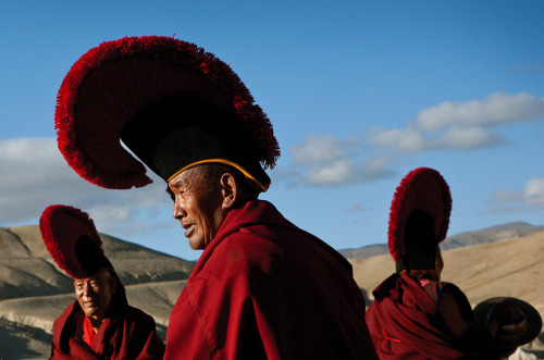 "boston:  THE BIG PICTURE Mustang: Nepal's former Kingdom of Lo  - Photographer Taylor Weidman was given special permission by the government of Nepal to travel in the restricted area of Mustang. He writes, ""Mustang, or the former Kingdom of Lo, is hidden in the rain shadow of the Himalaya in one of the most remote corners of Nepal."" (22 photos total)"