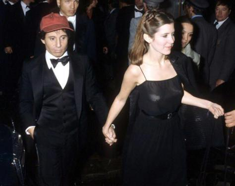 Paul Simon & Carrie Fisher, 1978