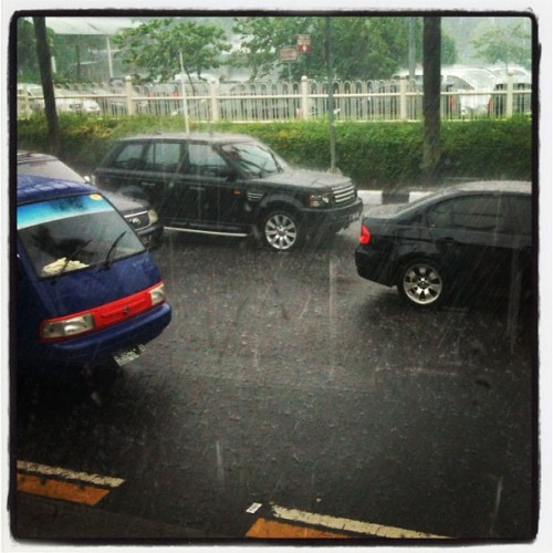 It's raining yo. (Taken with instagram)