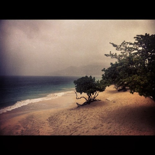 winnwashere:  Rainy Morning Grande Anse Beach, Morne Rouge, St. George's, Grenada