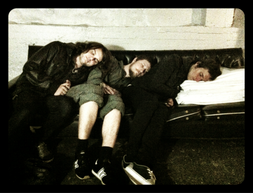 Nap time in Montreal.