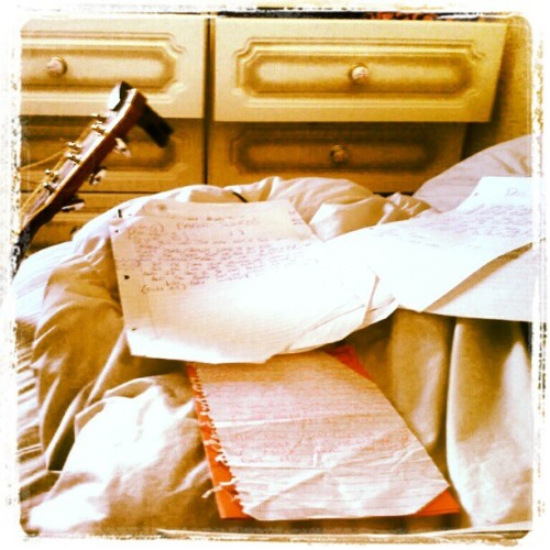 Just prepping for a day in the studio with Crazy Dave #lyrics #lyric #sheets #words #music #song #songs #structure #music #nimusic #cds #crazydave #youtube #recording #record #studio #bangor #bangornorthernireland #ni #belfast #acoustic #folk #guitar #stuart #luke #musician  (Taken with instagram)