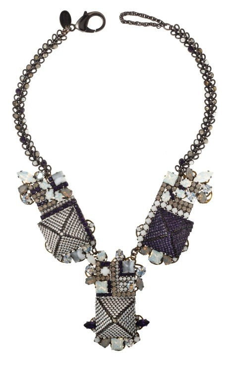 ninagarcia:  Field of Dreams necklace by Erickson Beamon (via Moda Operandi)