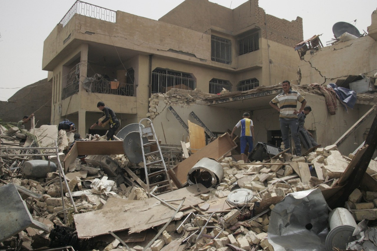 "More than 20 bombs hit cities and towns across Iraq on Thursday, killing at least 36 and wounding almost 150, police and hospital sources said, raising fears of sectarian strife in a country whose authorities are keen to show they can now maintain security. In Baghdad, three car bombs, two roadside bombs and one suicide car bomb hit mainly Shi'ite areas, killing 15 people and wounding 61, the sources said. Two car bombs and three roadside bombs aimed at police and army patrols in the northern oil city of Kirkuk killed eight people and wounded 26, police and hospital sources said. ""I was trying to stop traffic to let a police patrol pass …A car bomb exploded, I fell on the ground and police took me to the hospital,"" a policeman wounded in the face and chest told Reuters as doctors tended him. He declined to be named. It was Iraq's bloodiest day since Al Qaeda's affiliate in the country, the Islamic State of Iraq group, killed at least 52 people with a series of 30 blasts on March 20. READ MORE: At least 36 killed in wave of Iraq blasts"