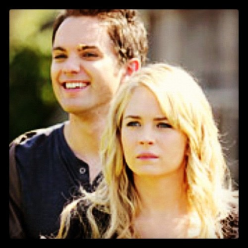 #thomasdekker #adam #tsc #thesecretcircle #set #secretcircle #ljsmith #brittrobertson #cassie #cadam  (Taken with instagram)