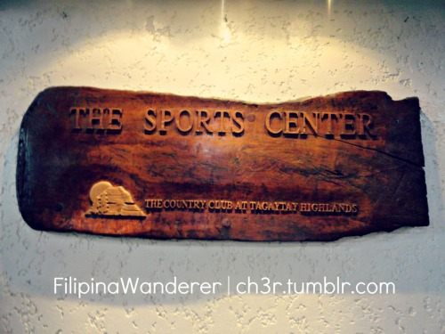 Sports Center Tagaytay Highlands