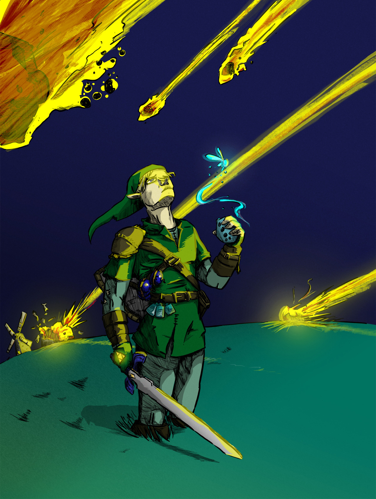 importantbusinessdinosaur:  Cory Johnson's Legend of Zelda album comes out on May5. You can listen to the demos here. Get ready to throw your money at him.  This.