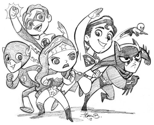 lulubonanza:  The Wonder Friends by ~tombancroft