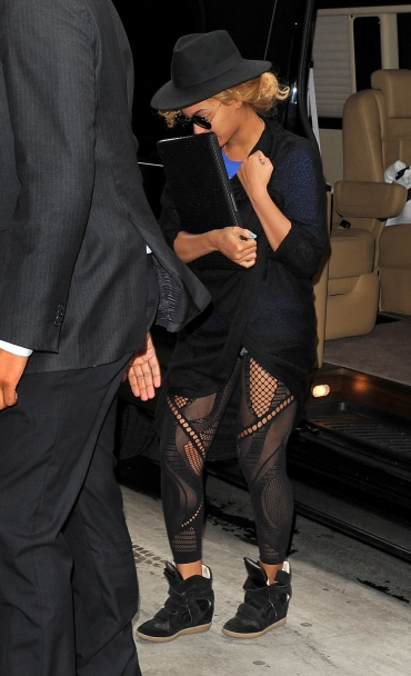 I like this look on Beyonce