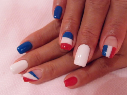 nailpop:  the real french nails :p
