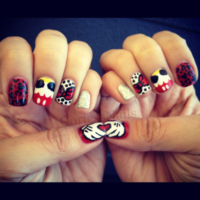gorjessnails:  Disney Nails!!