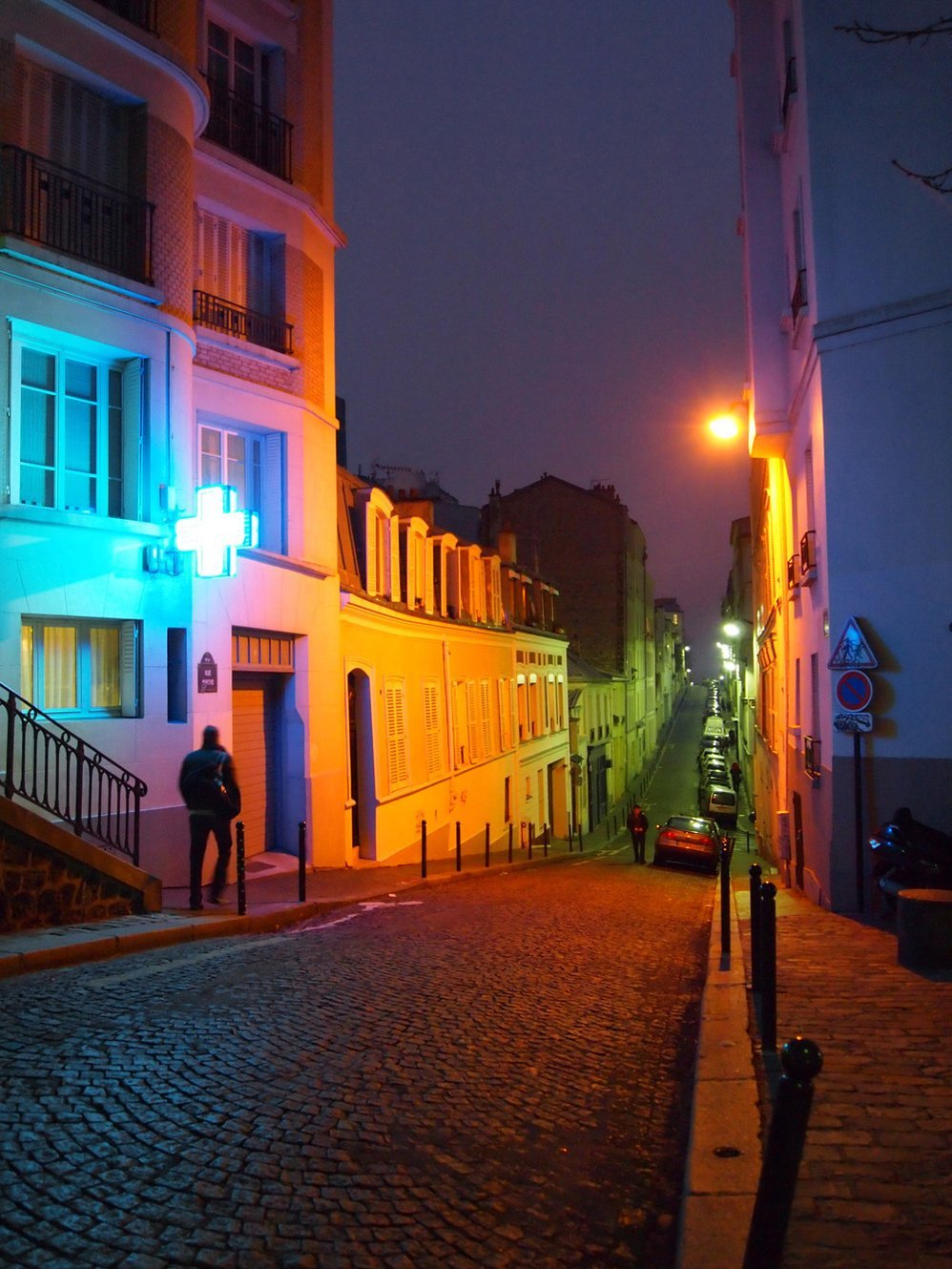 Rue Berthe, Montmartre by Janelle Fernandez. I'm sure I've walked down this road, then again, there's probably an awful lot of roads like this in Montmartre. I think it's near a square with a small shop called Le Singe Qui Lise [The Monkey That Reads], could be mistaken though. Anyway, it's from Pictory's latest photo showcase, this one being on Paris. I'd have to say that it's my favourite showcase on the website so far.