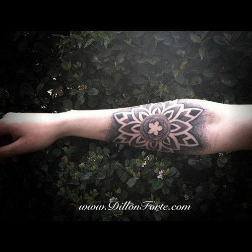 #blackwork #mandala #tattoo I did yesterday. (Taken with instagram)