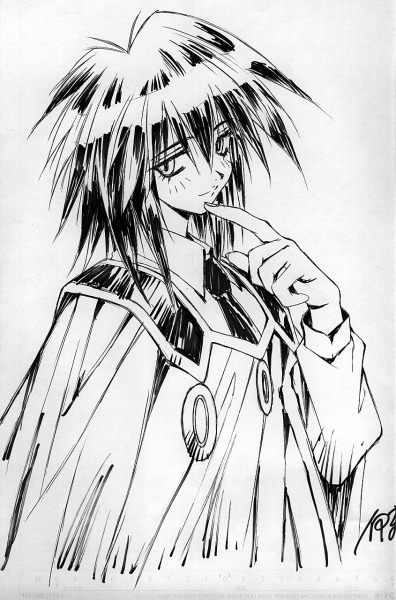 rocknrollbomber:  Melfina of Outlaw Star Takehiko Ito