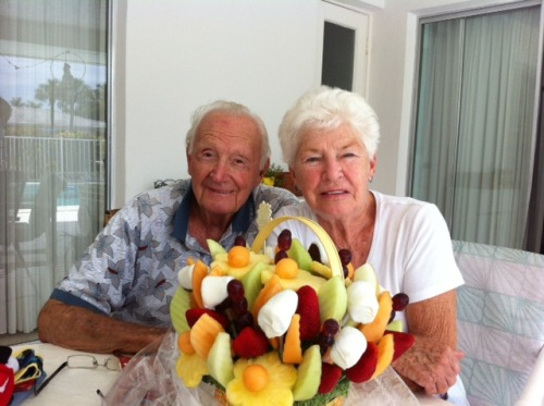 Happy 65th Wedding Anniversary to my loving Grandparents Dick and Jean Lydon! They look so vibrant and healthy! …a great example of ever lasting love!