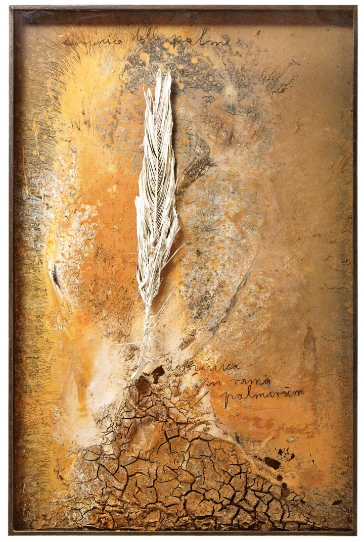 Anselm Kiefer Palmsonntag, 2006. Mixed Media, 215 x 141 x 11 cm. http://historyofourworld.wordpress.com/page/3/