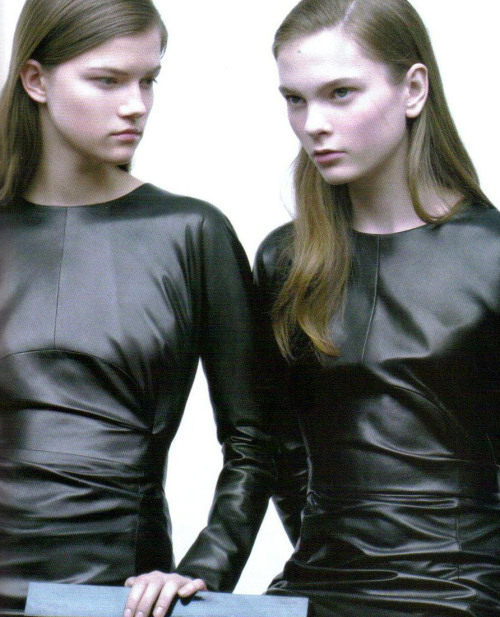 nomecalles:  Kasia Struss and Irina Kulikova by Willy Vanderperre for Jil Sander F/W 2007 ad Campaing