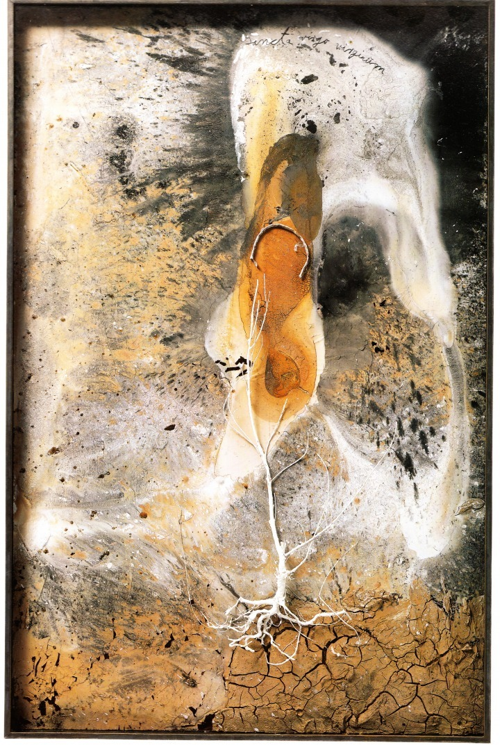 Palmsonntag, 2006. Mixed Media, 215 x 141 x 11 cm. Anselm Kiefer  http://historyofourworld.wordpress.com/page/3/