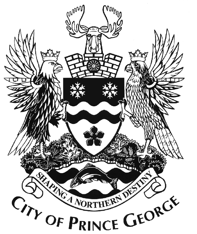 Did you know that the City of Prince George has a coat of arms? And that it is awesome?