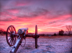 Manassas Battlefield @ Sunset
