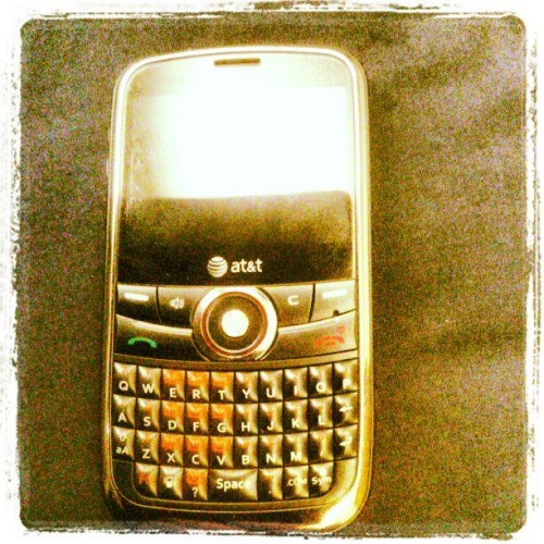 Just my phone (Taken with instagram)