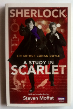 "thefinalpages:  ~ SHERLOCK GIVEAWAY ~ BBC Sherlock official tie-in book; ""A Study in Scarlet"". No real reason for this (first) giveaway except to celebrate being Sherlockians. I found a wonderful shop that was selling these tie-in books for amazingly cheap (and at three books for £5!), so I grabbed an extra one to specifically give away. (Even if you already own a copy of the Sherlock Holmes books, who cares! Isn't it worth it just for the beautiful covers?) Rules: To enter you just need to reblog. Reblog as many times as you like but PLEASE be considerate to your followers. Nobody likes a spammer. Likes don't count, I'm afraid. (Not that I can stop you.) You really don't have to be following me to enter (though I do like having more friends). But, should this giveaway go well, there's a big chance I will be doing more in the future. :) A random number generator will determine the winner and the winner will have 48 hours to reply (so make sure your Ask is open). Shipping shouldn't be a problem. I should be able to ship anywhere. Except Hogwarts, maybe. Giveaway ends Midnight (UK time) Friday May 5th. Cheers!"