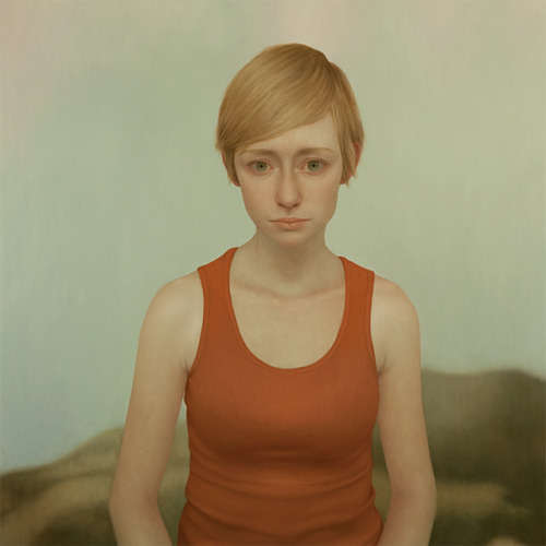 lucong:  Tabitha 12, oil on panel, 48 x 48 inches, 2011Vail International Gallery, Vail, CO