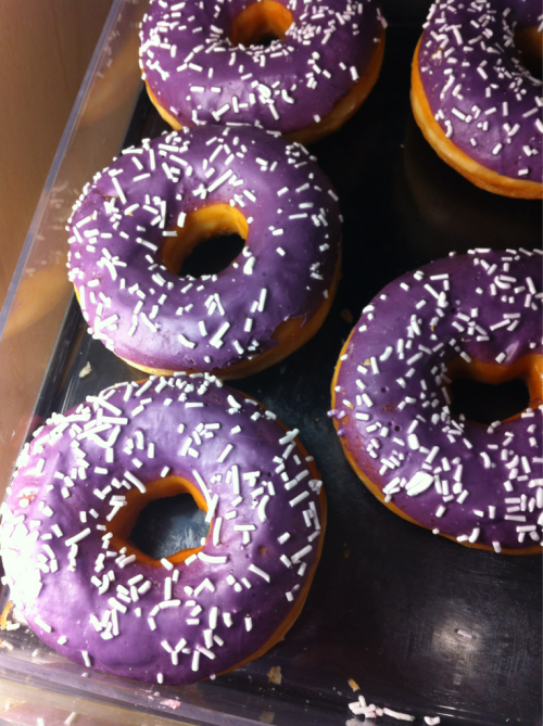 Blueberry Donuts :)
