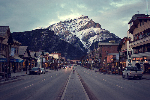 bromo-aj:  omg this is banff haha now i see it